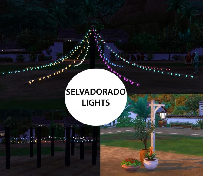 Selvadorado Lights by icemunmun at Mod The Sims image 571 670x580 Sims 4 Updates