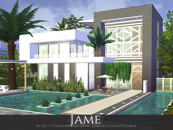 Jame home by Rirann at TSR image 5719 Sims 4 Updates