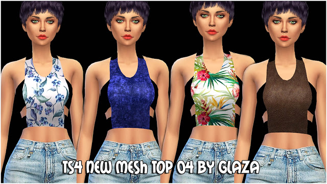 Top 04 at All by Glaza image 576 Sims 4 Updates
