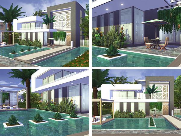 Sims 4 Jame home by Rirann at TSR