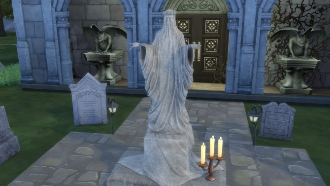 Gravestones & Mortuary Statue from TS3 by TheJim07 at Mod The Sims image 5916 670x377 Sims 4 Updates