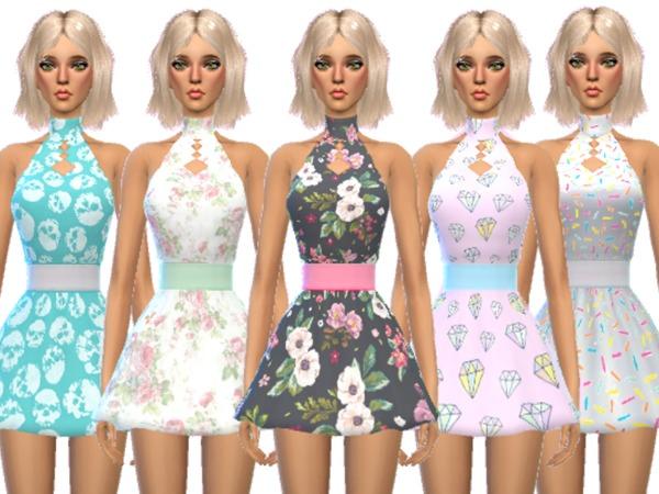 Sims 4 Super Kawaii Mini Dress by Wicked Kittie at TSR