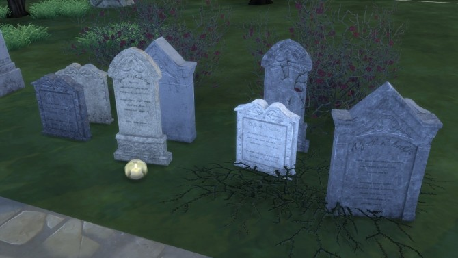 Gravestones & Mortuary Statue from TS3 by TheJim07 at Mod The Sims image 6016 670x377 Sims 4 Updates