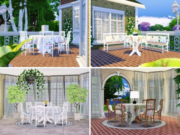 Oak View house by MychQQQ at TSR image 6102 Sims 4 Updates