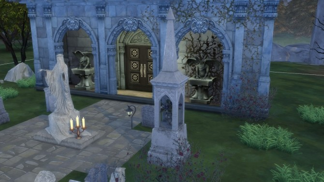 Gravestones & Mortuary Statue from TS3 by TheJim07 at Mod The Sims image 6120 670x377 Sims 4 Updates