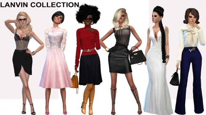 L collection (P) at Rhowc image 6127 670x377 Sims 4 Updates