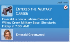 Military Career (Sims 3 Remake) by Sims Lover at Mod The Sims image 628 Sims 4 Updates
