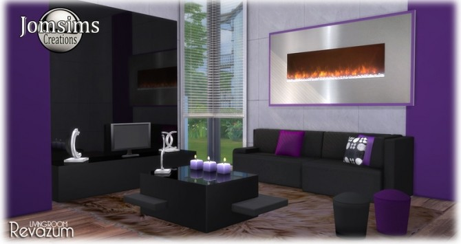 Revazum livingroom at Jomsims Creations image 632 670x355 Sims 4 Updates