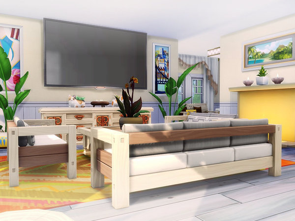 Sims 4 Sunnyhill house by MychQQQ at TSR
