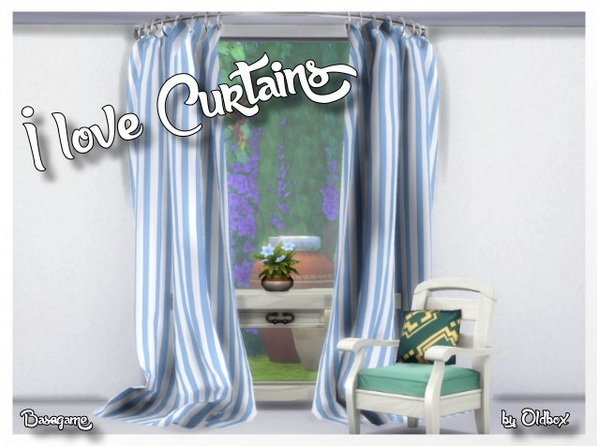 Curtains by Oldbox at All 4 Sims image 639 Sims 4 Updates