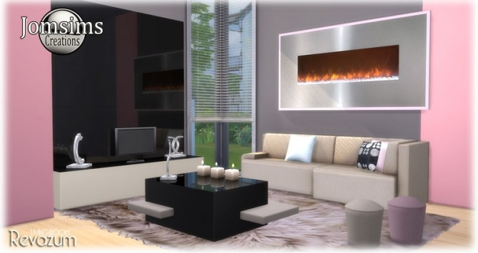 Revazum livingroom at Jomsims Creations image 642 670x355 Sims 4 Updates