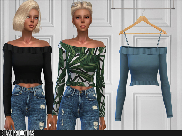 115 Top by ShakeProductions at TSR image 6519 Sims 4 Updates