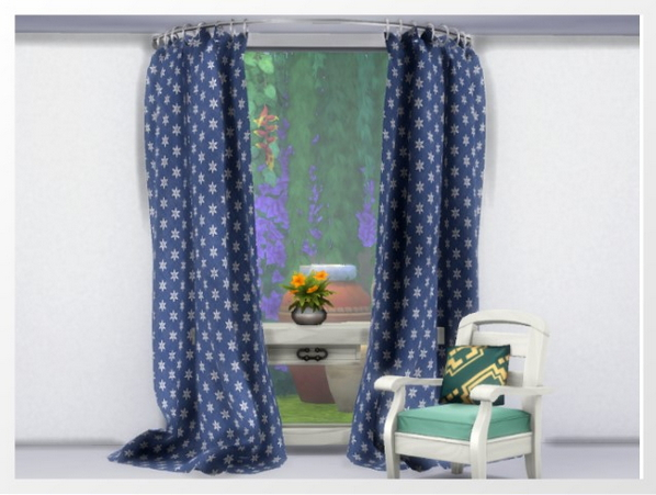 Curtains by Oldbox at All 4 Sims image 668 Sims 4 Updates
