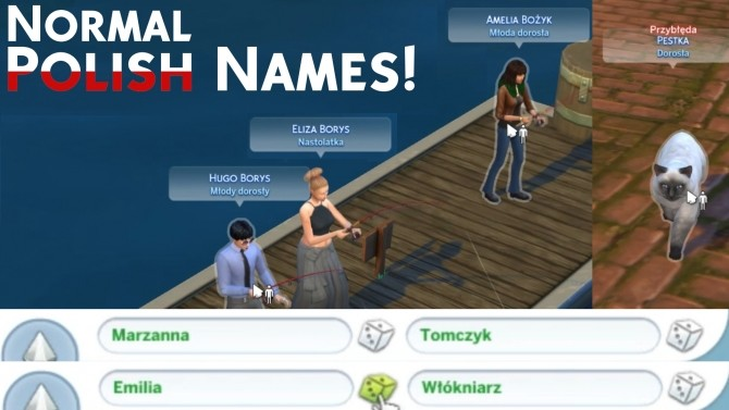 Normal & More Polish Names by Mertikora at Mod The Sims image 6710 670x377 Sims 4 Updates