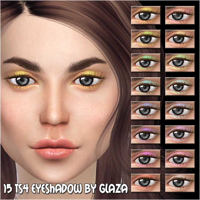 Eyeshadow #15 at All by Glaza image 6713 Sims 4 Updates