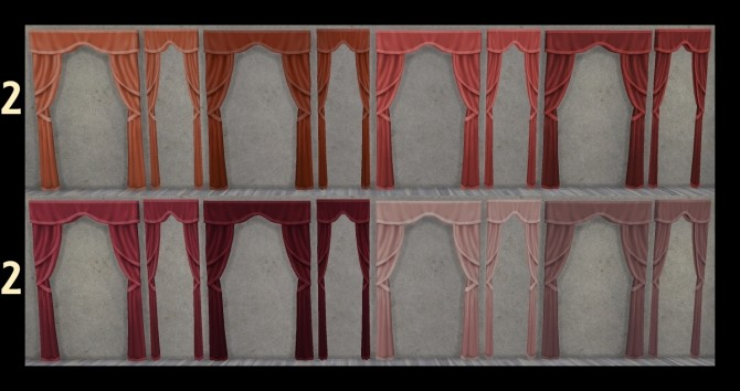 Just So Curtains Full and Half Size by Simmiller at Mod The Sims image 6716 670x354 Sims 4 Updates