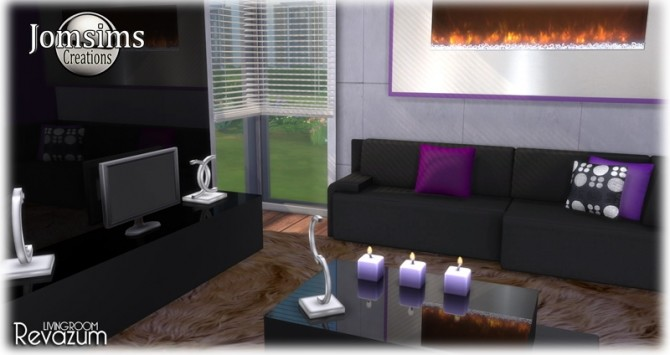 Revazum livingroom at Jomsims Creations image 682 670x355 Sims 4 Updates