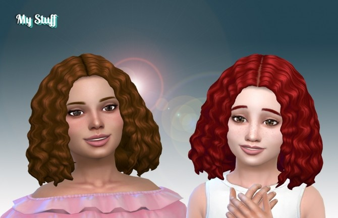 Sims 4 Joanne Hair for Girls at My Stuff