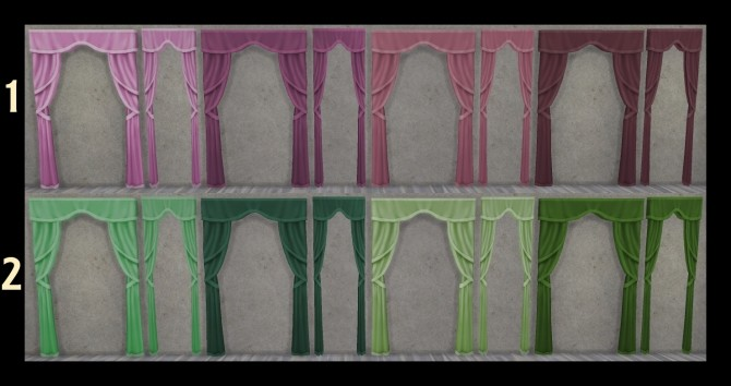 Just So Curtains Full and Half Size by Simmiller at Mod The Sims image 6915 670x354 Sims 4 Updates