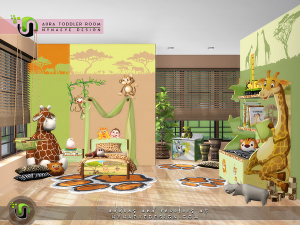 Aura Toddlers Room by NynaeveDesign at TSR image 6919 Sims 4 Updates