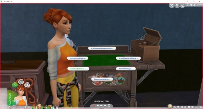 Extract Fossils at the Archaeology Table at LittleMsSam image 699 670x360 Sims 4 Updates