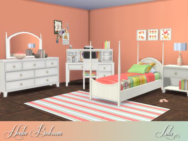 Heidi Bedroom by Lulu265 at TSR image 7011 Sims 4 Updates