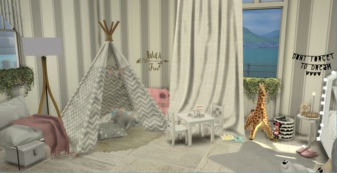 Sweet Dreams Kids Bedroom at PortugueseSimmer image 7012 670x344 Sims 4 Updates