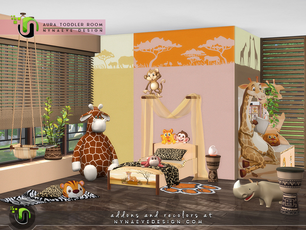 Aura Toddlers Room by NynaeveDesign at TSR image 7019 Sims 4 Updates