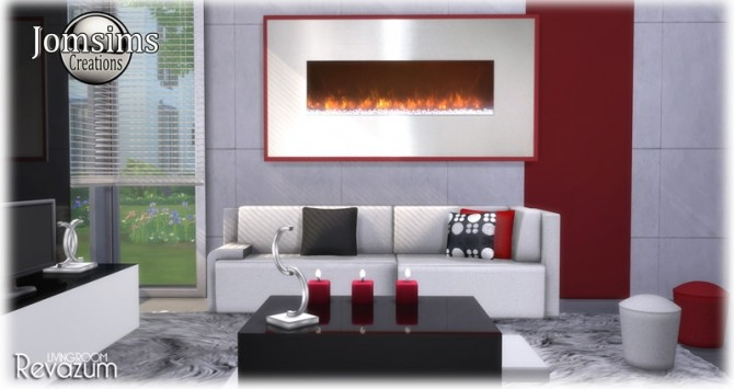 Revazum livingroom at Jomsims Creations image 702 670x355 Sims 4 Updates