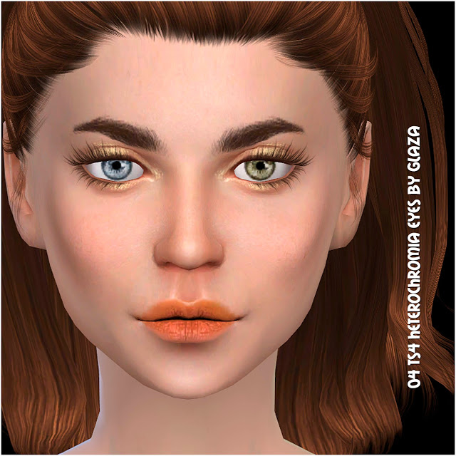 04 heterochromia eyes at All by Glaza image 709 Sims 4 Updates