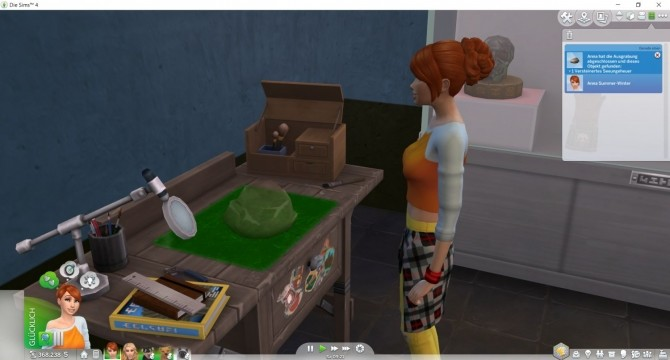 Extract Fossils at the Archaeology Table at LittleMsSam image 7113 670x360 Sims 4 Updates