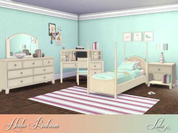 Heidi Bedroom by Lulu265 at TSR image 7114 Sims 4 Updates