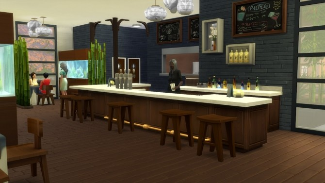 Asian Restaurant by Moscowlyly at Mod The Sims image 7210 670x377 Sims 4 Updates