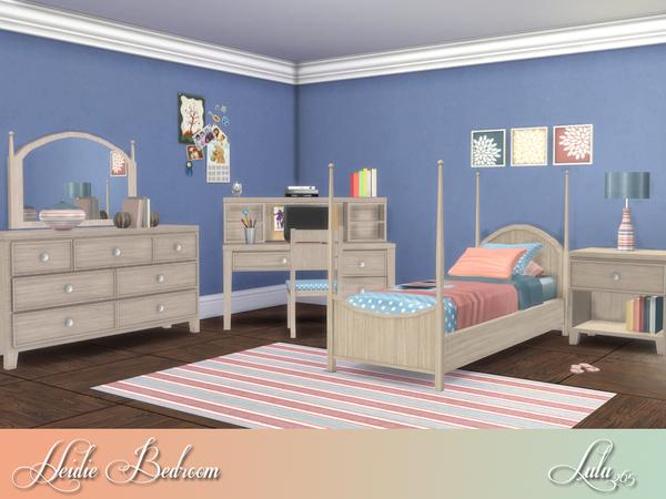 Heidi Bedroom by Lulu265 at TSR image 7213 Sims 4 Updates