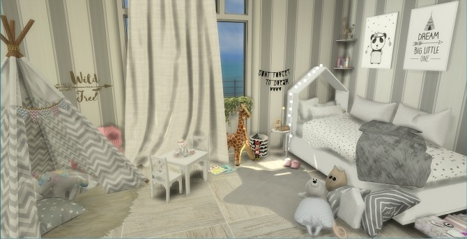 Sweet Dreams Kids Bedroom at PortugueseSimmer image 7312 670x344 Sims 4 Updates