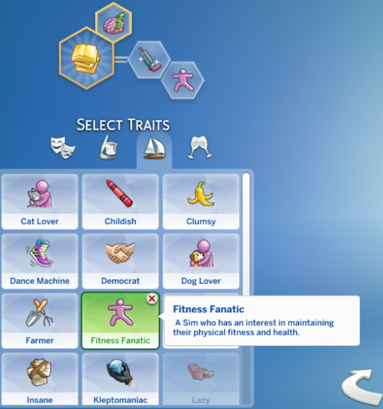 Sims 4 Fitness Fanatic trait by Sims Lover at Mod The Sims