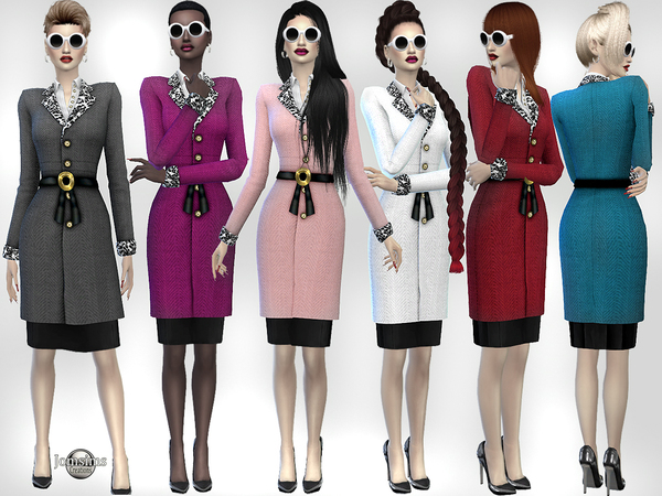 Sims 4 Conalina outfit by jomsims at TSR