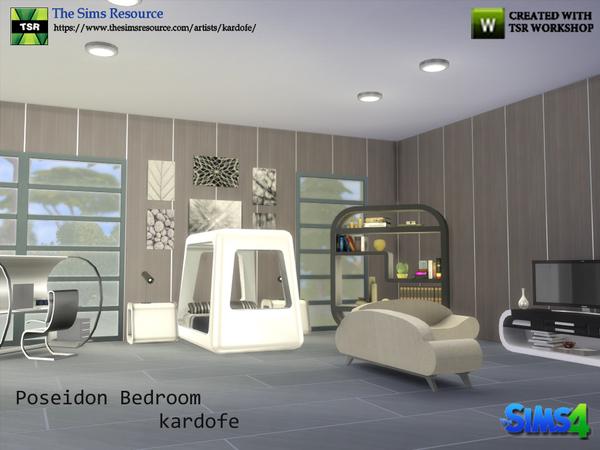 Poseidon Bedroom by kardofe at TSR image 7419 Sims 4 Updates