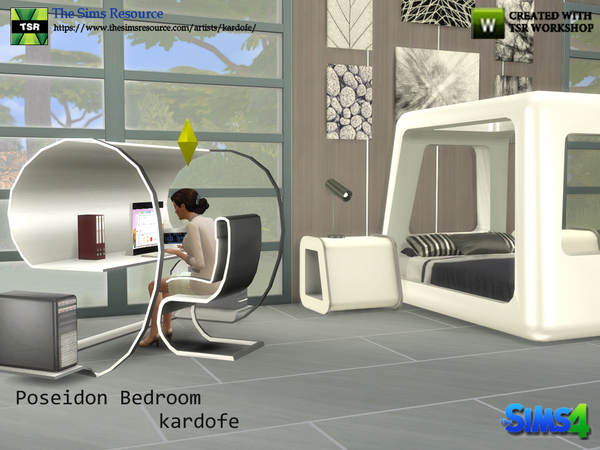 Poseidon Bedroom by kardofe at TSR image 7519 Sims 4 Updates