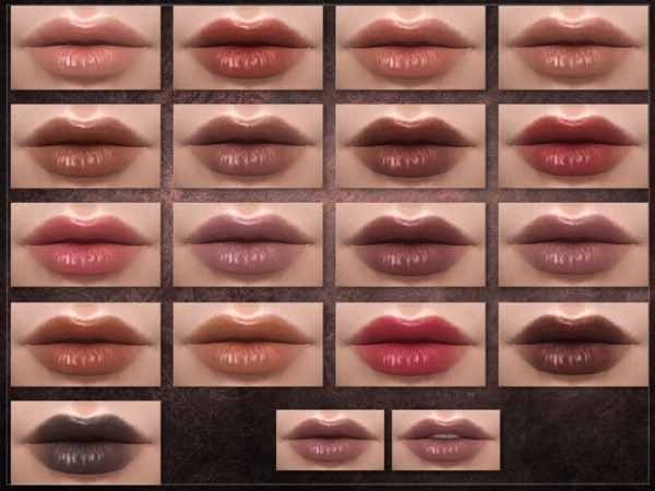 Sims 4 Compartment Lipstick by RemusSirion at TSR