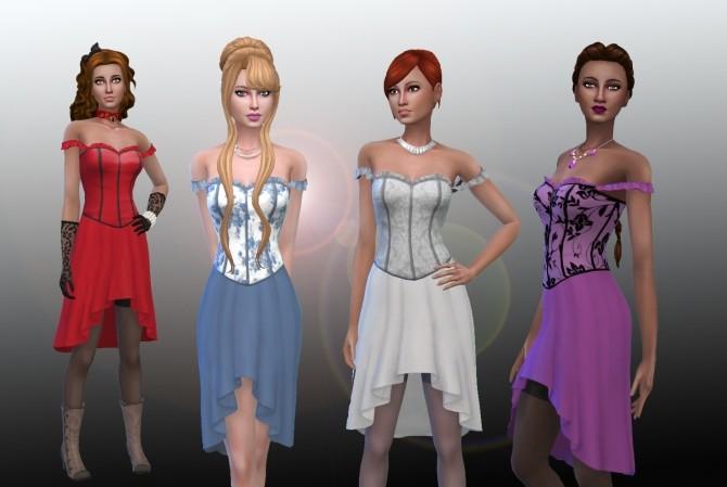 Leonora Dress at My Stuff image 7613 670x449 Sims 4 Updates
