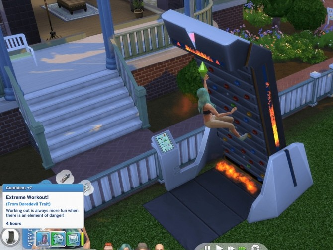 Sims 4 Daredevil Trait by GoBananas at Mod The Sims