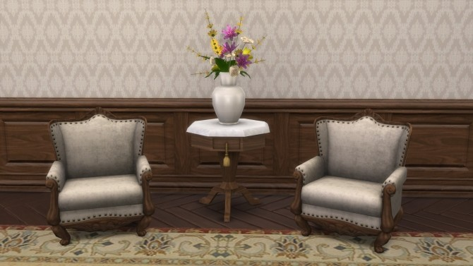 Sims 4 Moelleux Living Chair by TheJim07 at Mod The Sims