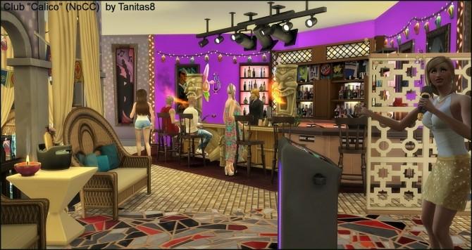Calico Club Nocc at Tanitas8 Sims image 779 670x356 Sims 4 Updates