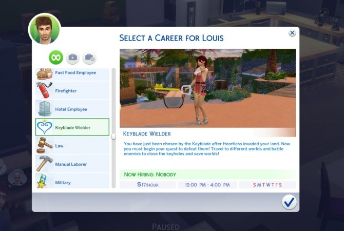 Kingdom Hearts Career by GoBananas at Mod The Sims » Sims 4