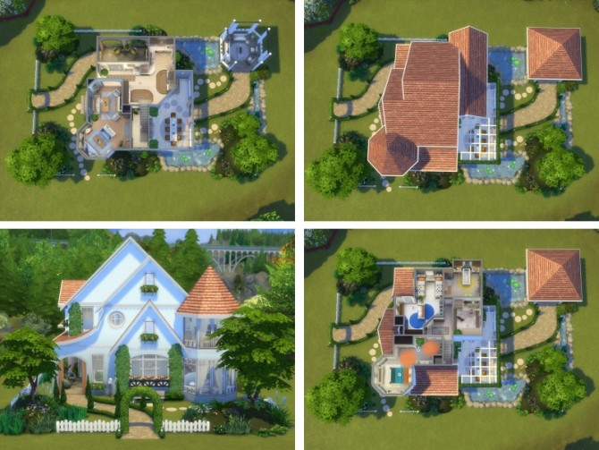 Hawthorne house No CC by Lenabubbles82 at Mod The Sims image 803 670x503 Sims 4 Updates