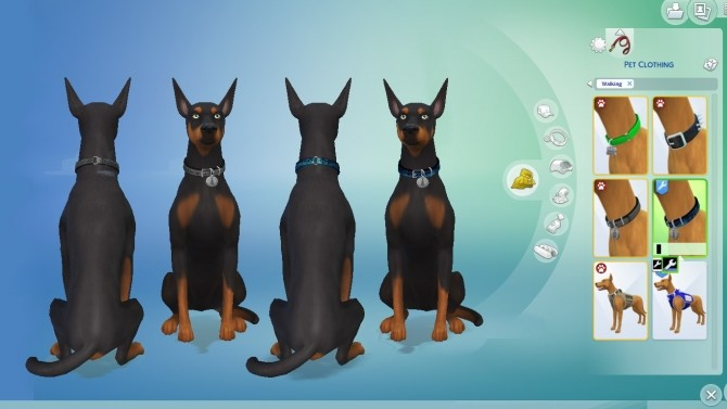 Disreputable Dog Collar by EmilitaRabbit P at Mod The Sims image 8124 670x377 Sims 4 Updates