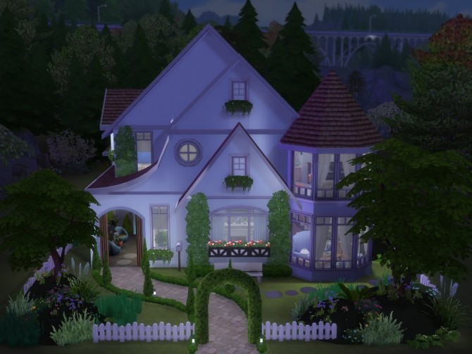 Hawthorne house No CC by Lenabubbles82 at Mod The Sims image 816 670x503 Sims 4 Updates
