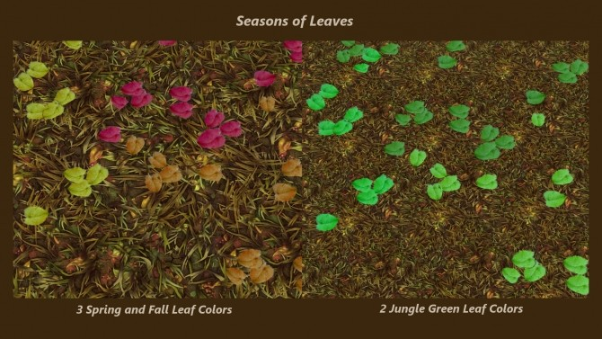Scattered Blooms by Snowhaze at Mod The Sims image 8211 670x377 Sims 4 Updates