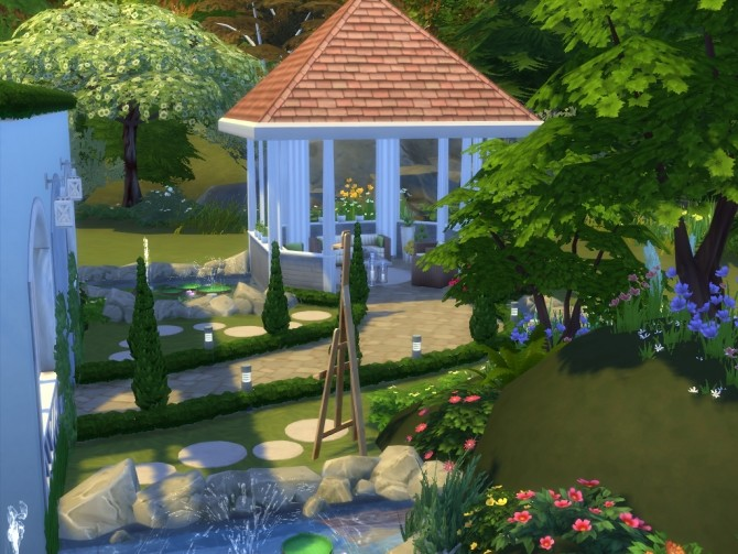 Sims 4 Hawthorne house No CC by Lenabubbles82 at Mod The Sims